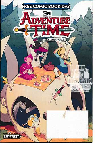 Adventure Time Fionna & Cake 2018 Free Comic Book Day Special