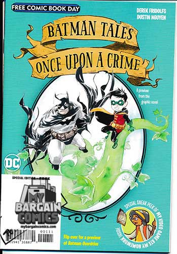 Batman Overdrive Once Upon A Crime Flipbook (2020)