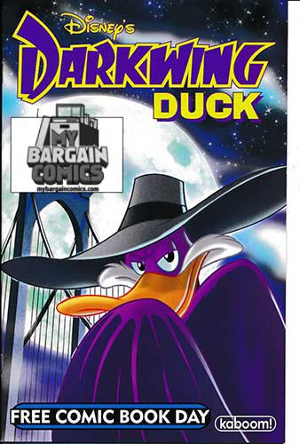 FCBD 2011 Darkwing Duck / Chip and Dale Rescue Rangers