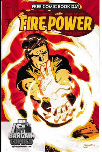 Fire Power #1 Free Comic Book Day (2020)