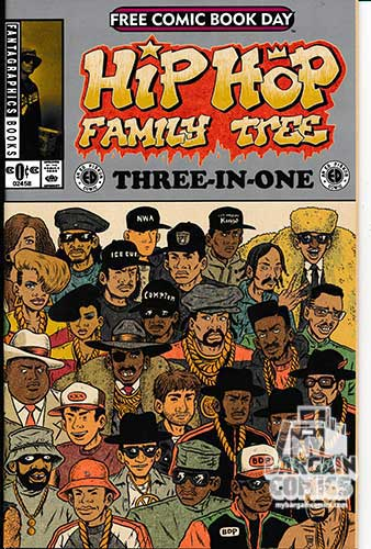 FCBD 2015 Hip Hop Family Tree 3-in-1 Featuring Cosplayers