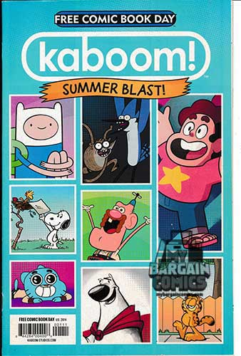 Kaboom Summer Blast Free Comic Book Day Edition (2014)