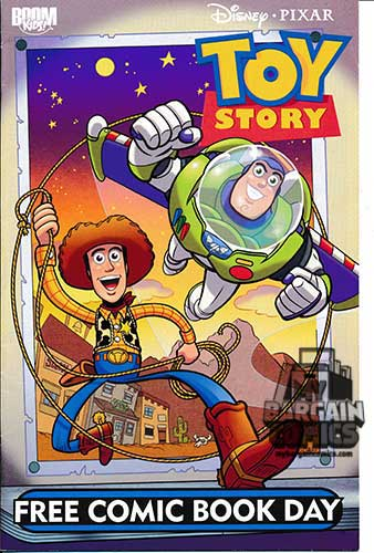 Toy Story Free Comic Book Day Edition (2010)