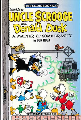 "FCBD 2014 Walt Disney Uncle Scrooge and Donald Duck ""A Matter of Some Gravity"""